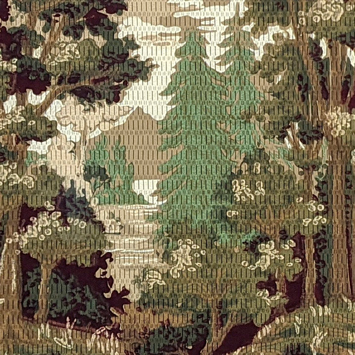 Tapestry Treescape with Lake, Mountain