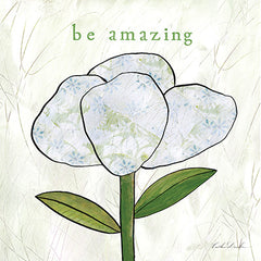 Canvas Art Flower Collage inspirational Be Amazing