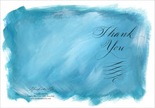 Greeting Card - Painted Calligraphy - Thank You