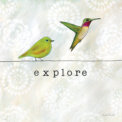 Birds of a Feather - Explore Hummingbird Print