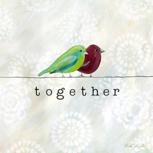 Birds of a Feather - Together Bird Print