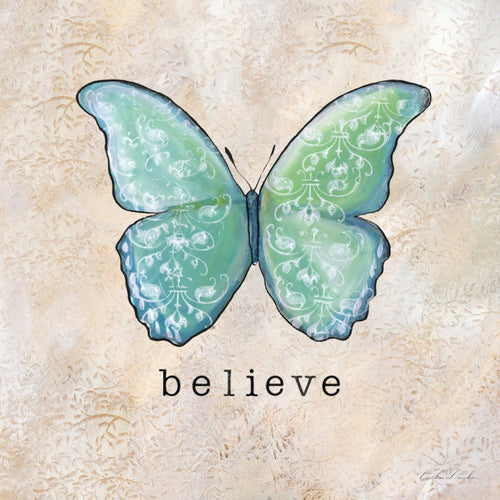 Butterfly Inspirations - Believe Print