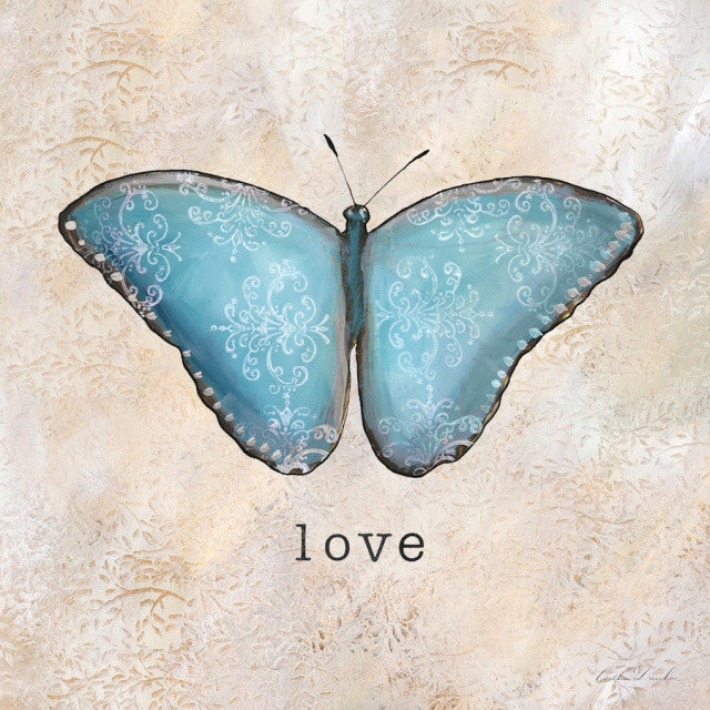 Butterfly Inspirations - Love Print