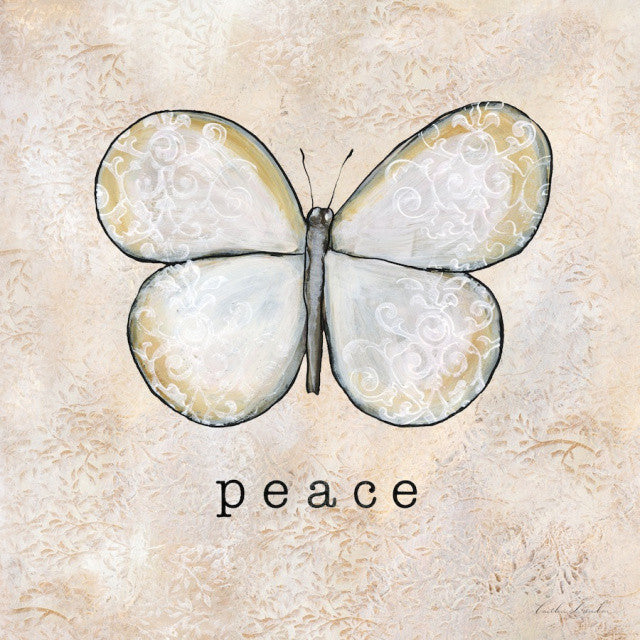 Butterfly Inspirations - Peace Print