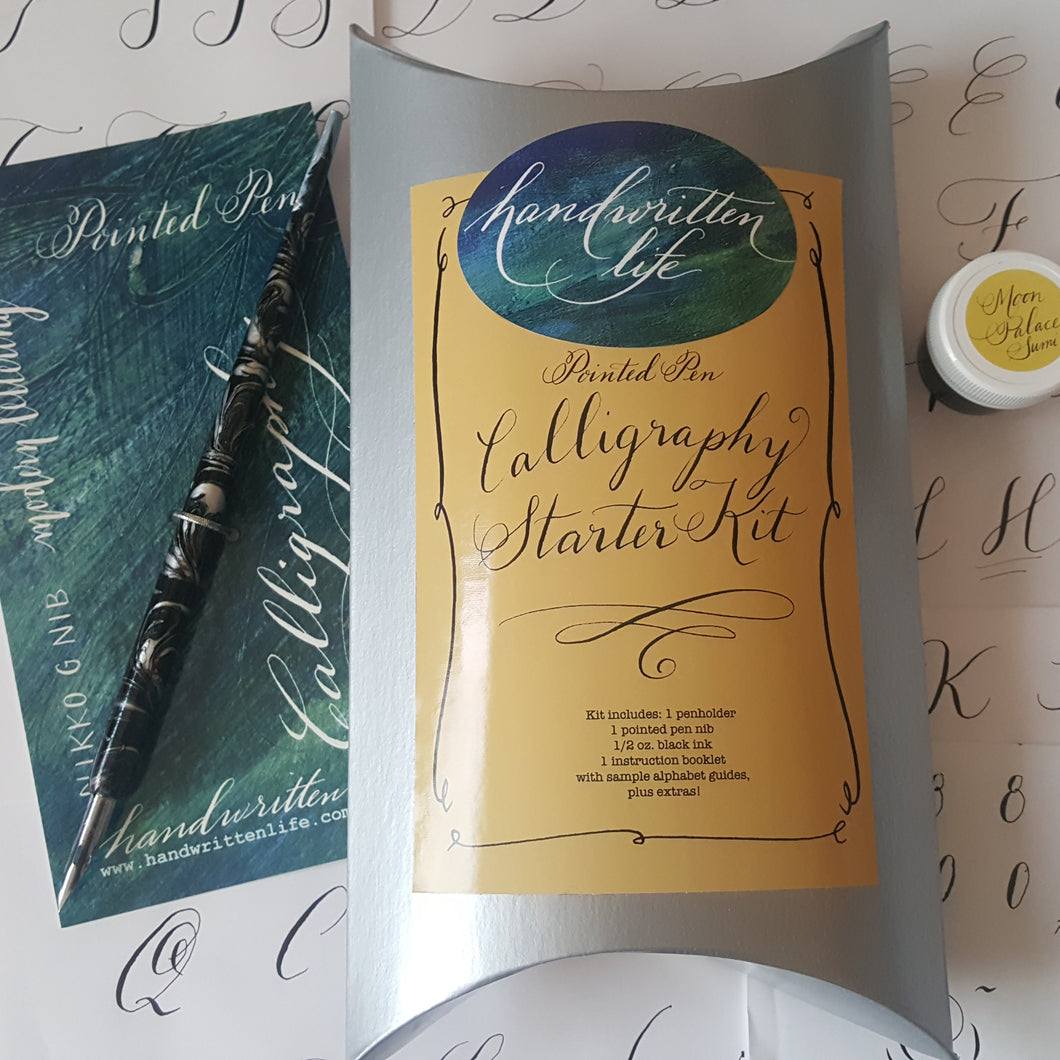11/19/2019  7:00 pm - 9:00 pm Introduction to Modern Flow Calligraphy, Seattle, $65
