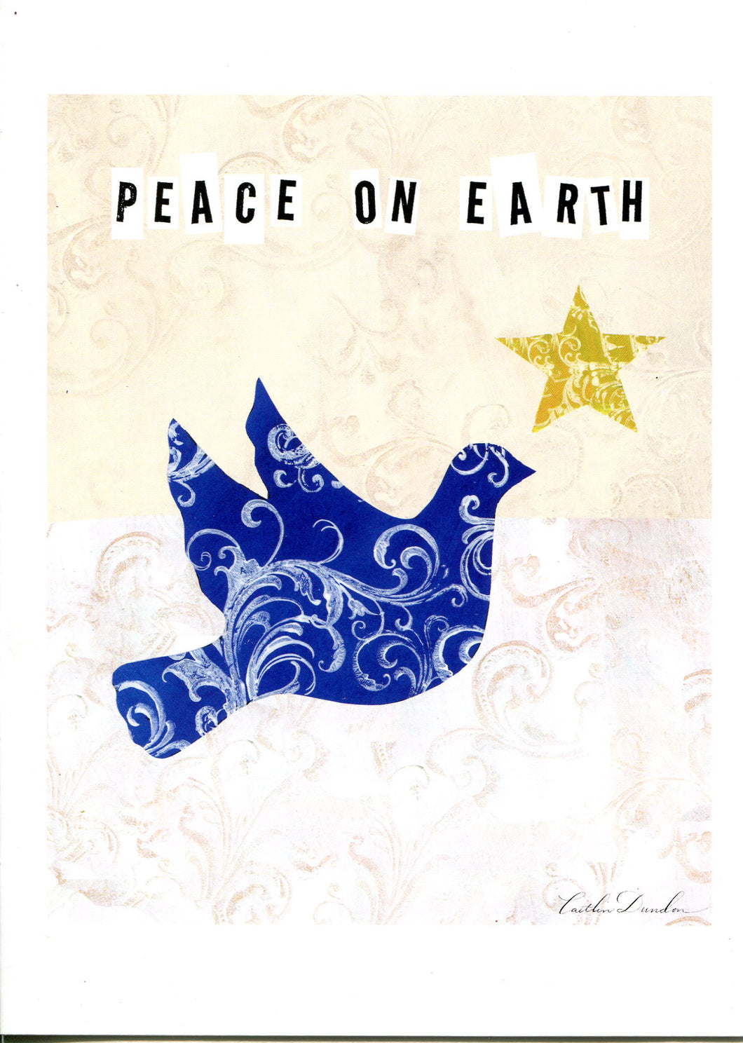 artist greeting cards holiday cards peace on earth dove sale