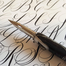 10/19/2019 - 10/20/2019  1:00 pm-5:00 pm Playful Pen Calligraphy, 2-Day Workshop, Seattle, $ 250