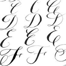 04/16/2019 7:00 pm - 9:00 pm, Calligraphy II: Connections, Seattle (Ballard), $65