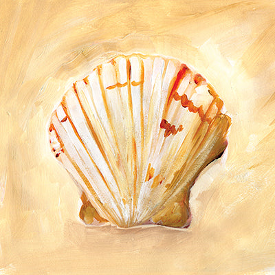 Painted Seashells II Print