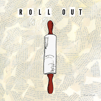 Kitchen Utensils I - Roll Out - Rolling Pin Print