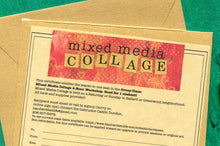Gift Certificate for Mixed Media Collage 4-Hr Group Workshop $ 99