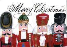 Set of 10 Greeting Cards - Holiday Cards - Nutcracker I VERTICAL