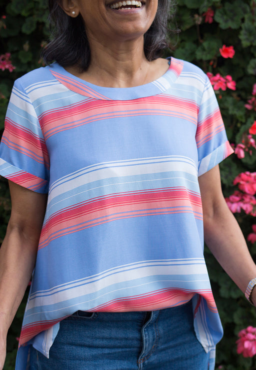 Cruising Striped Blouse