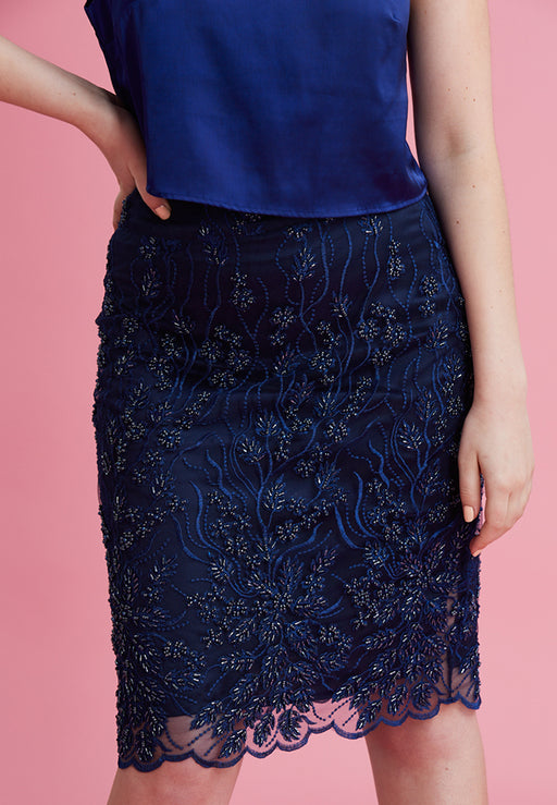 In The Depths of You Midi Skirt