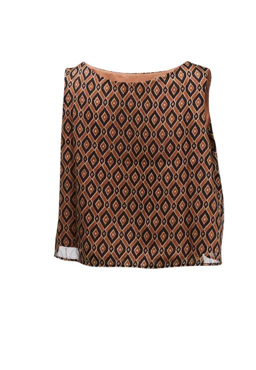 Ikat Sleeveless Blouse