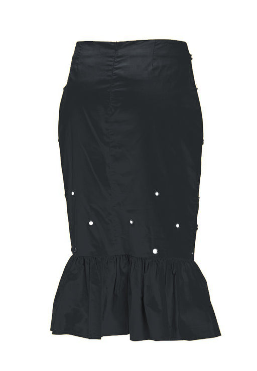 Minaj Midi Skirt in Night