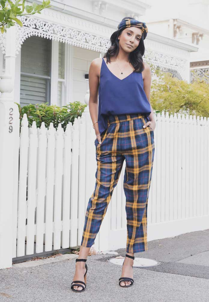 Nafisa Relaxed Fit Pants