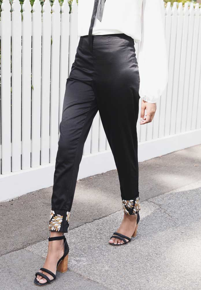 Rani Pants in Black
