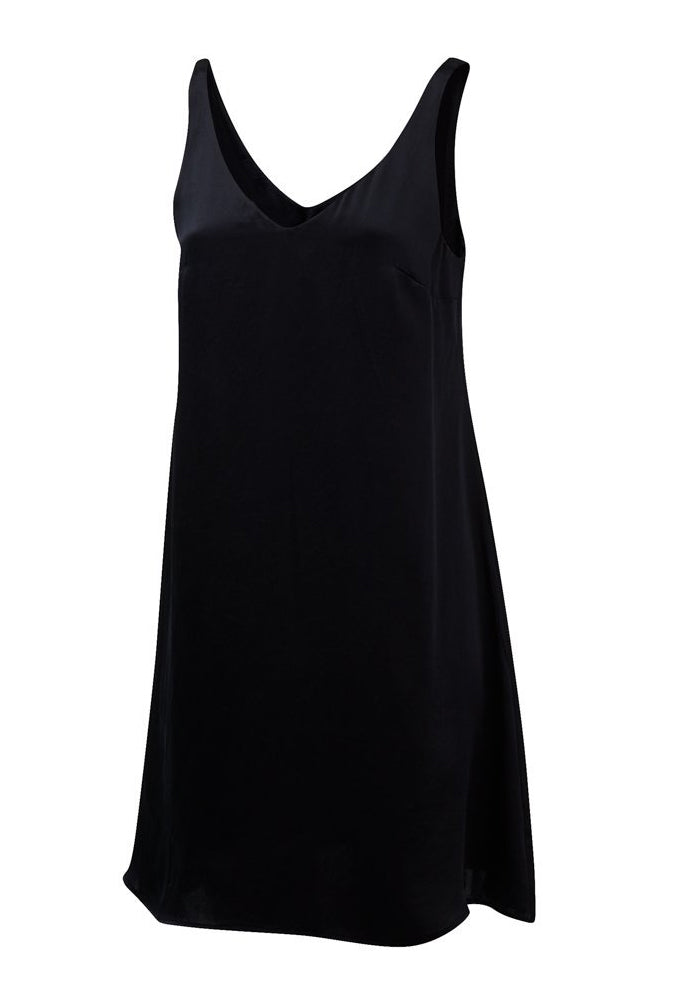 Take Me Off Slip Dress in Night