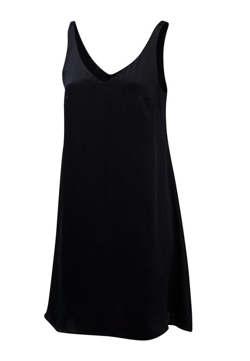 Take Me Off Slip Dress in Ink OR Night