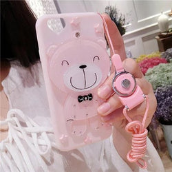 Bear iphone shell with mirror