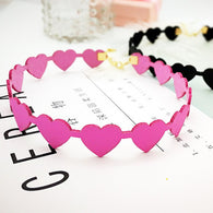 Heart Flocking Collar