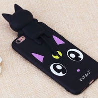 Luna Cat Iphone shell
