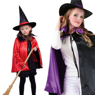 Witch hat and cloak