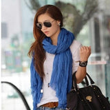 Candy color Woman Fashion Scarf