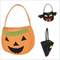 Handheld Bags Halloween Holiday Smile Pumpkin Bag Kids Candy Bag Children Party Supplies