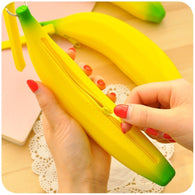 Banana silicone rubber change pocket/coin purses