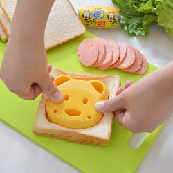 Bear mold Sandwich Cutter