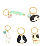 Cute Animal Keychain