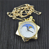 Crystal Star Pocket Watch
