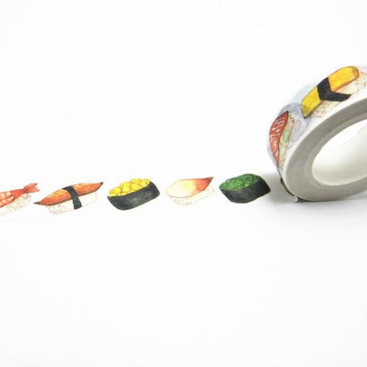 Kawaii Sushi Printing Washi Tape