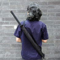 Black Samurai Sword Kantana Sun Umbrella