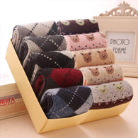 5 pc winter cashmere breathable socks