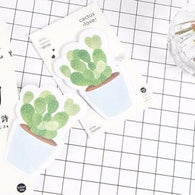 30 pages/pack Fresh Cactus Love Memo Pad