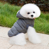 Mustache Hooded Pet Dog Clothes