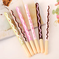 3Pcs/Lot Biscuit Shape Gel Pen
