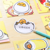 Gudetama Lazy Egg Mini Memo Pad Sticky Notes - RANDOM SELECTED