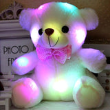 Colorful LED Flash Light Bear Doll Plushie