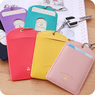 Candy Color Office Card Holder