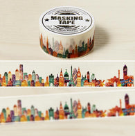 2cm Wide The Beautiful City Washi Tape