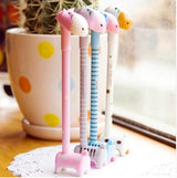 10 pcs lovely stand donkey gel pen