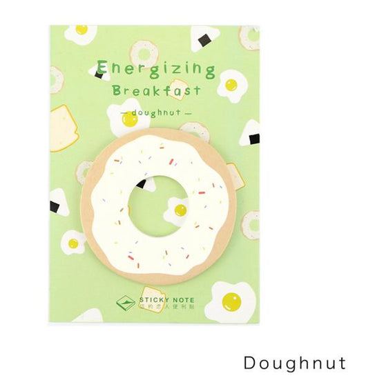 Energizing Breakfast Memo Pad