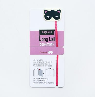 Novelty Long Tail Designs Magnet Bookmark