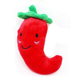 Fruit & Vegetable Designs Toys for Pet  - 15 Styles to choose
