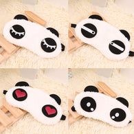 Cute Panda Sleeping Face Eye Mask Blindfold