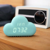 Creative novelty Sound Control Cloud Alarm Clock